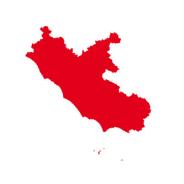 Cartina Lazio