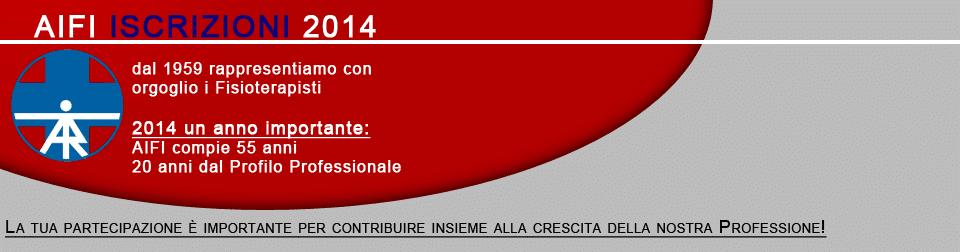AIFI ISCRIZIONI 2014