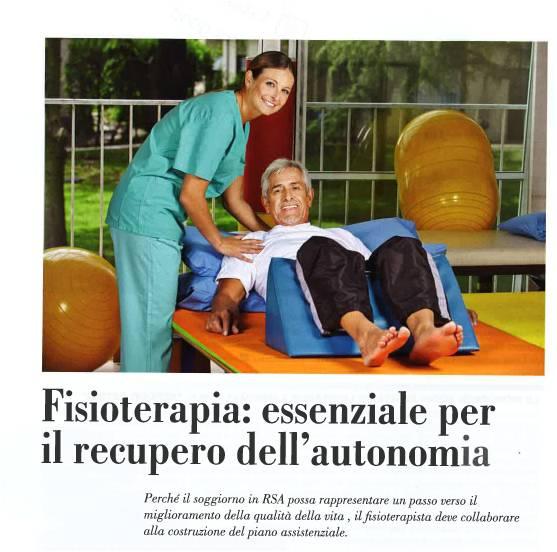 Fisioterapia: essenziale per il recupero dell'autonomia