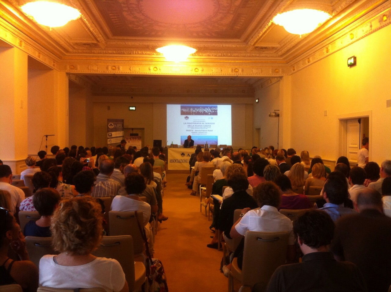 A Trieste si alza il vento del cambiamento e la fisioterapia è protagonista.
