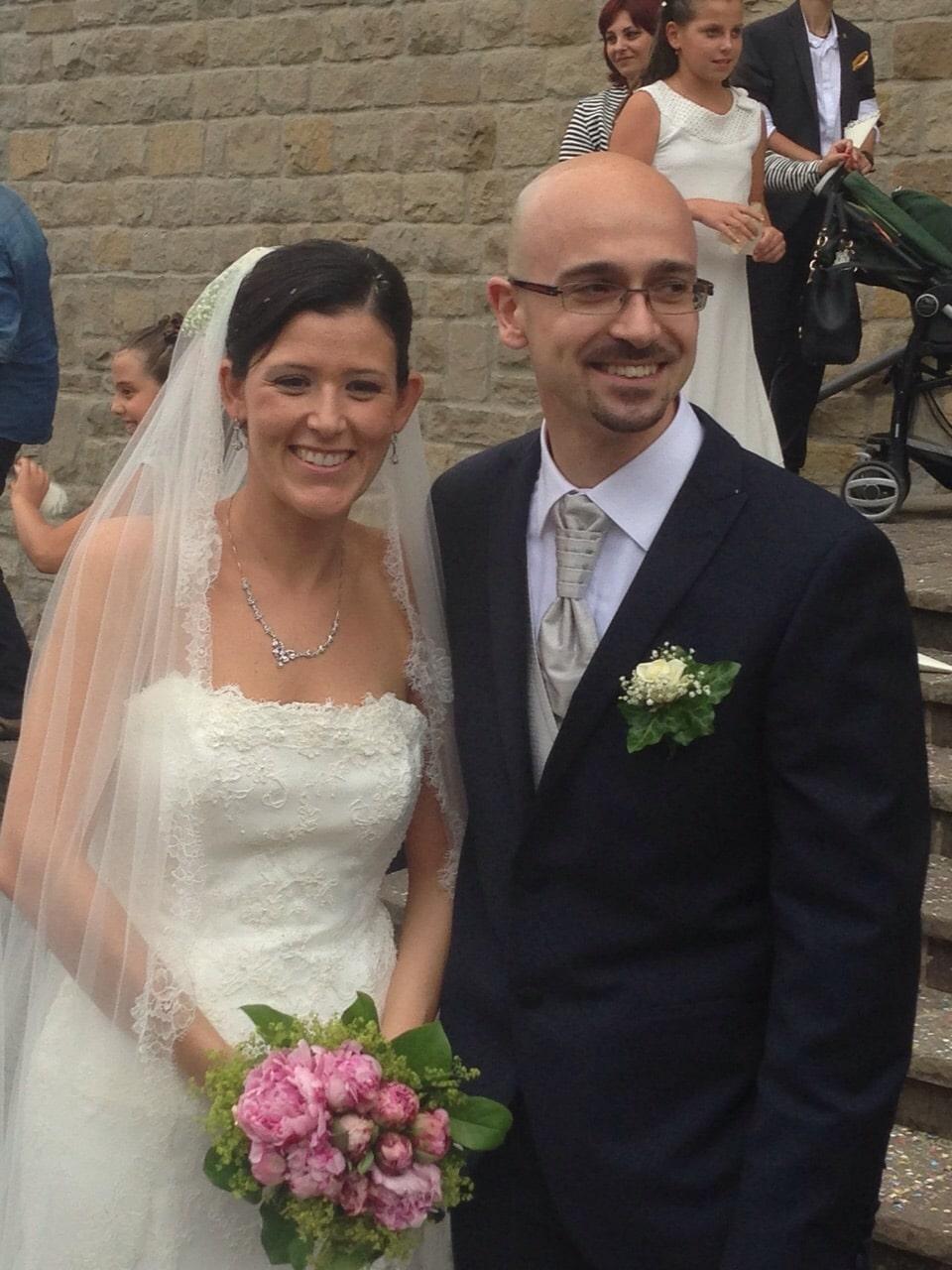 Festa in casa AIFI! Congratulazioni a Monica e Francesco, oggi sposi!