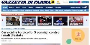 Cervicali e torcicollo: 5 consigli contro i mali d'estate - Salute-Fitness - Gazzetta di Parma 2015-07-17 17-44-11