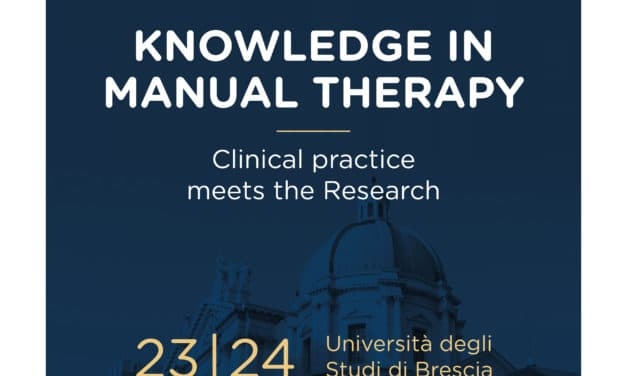 "15° CONGRESSO NAZIONALE GTM ""KNOWLEDGE IN MANUAL THERAPY CLINICAL PRACTICE MEETS THE RESEARCH"""