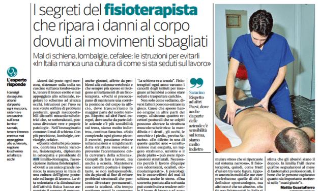 I segreti del fisioterapista che ripara i danni al corpo dovuti ai movimenti sbagliati