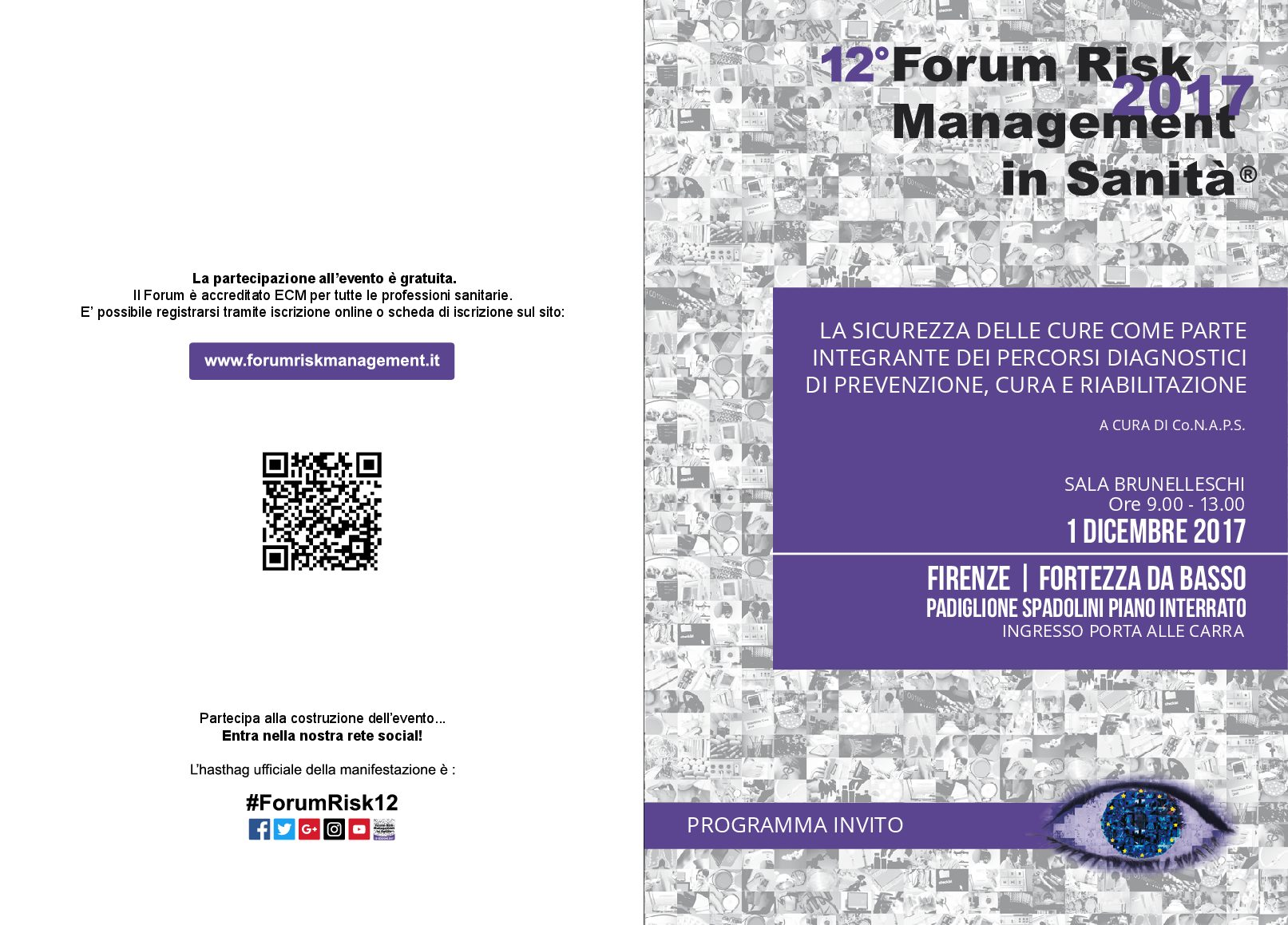12° Forum Risk Management in Sanità 2017