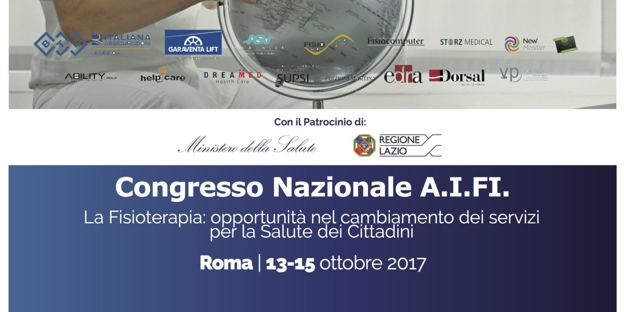 AIFI 2017, A ROMA IL CONGRESSO PER IL RINNOVO DELLE CARICHE