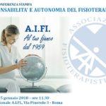 CONFERENZA STAMPA AIFI – ROMA 25/01/2018