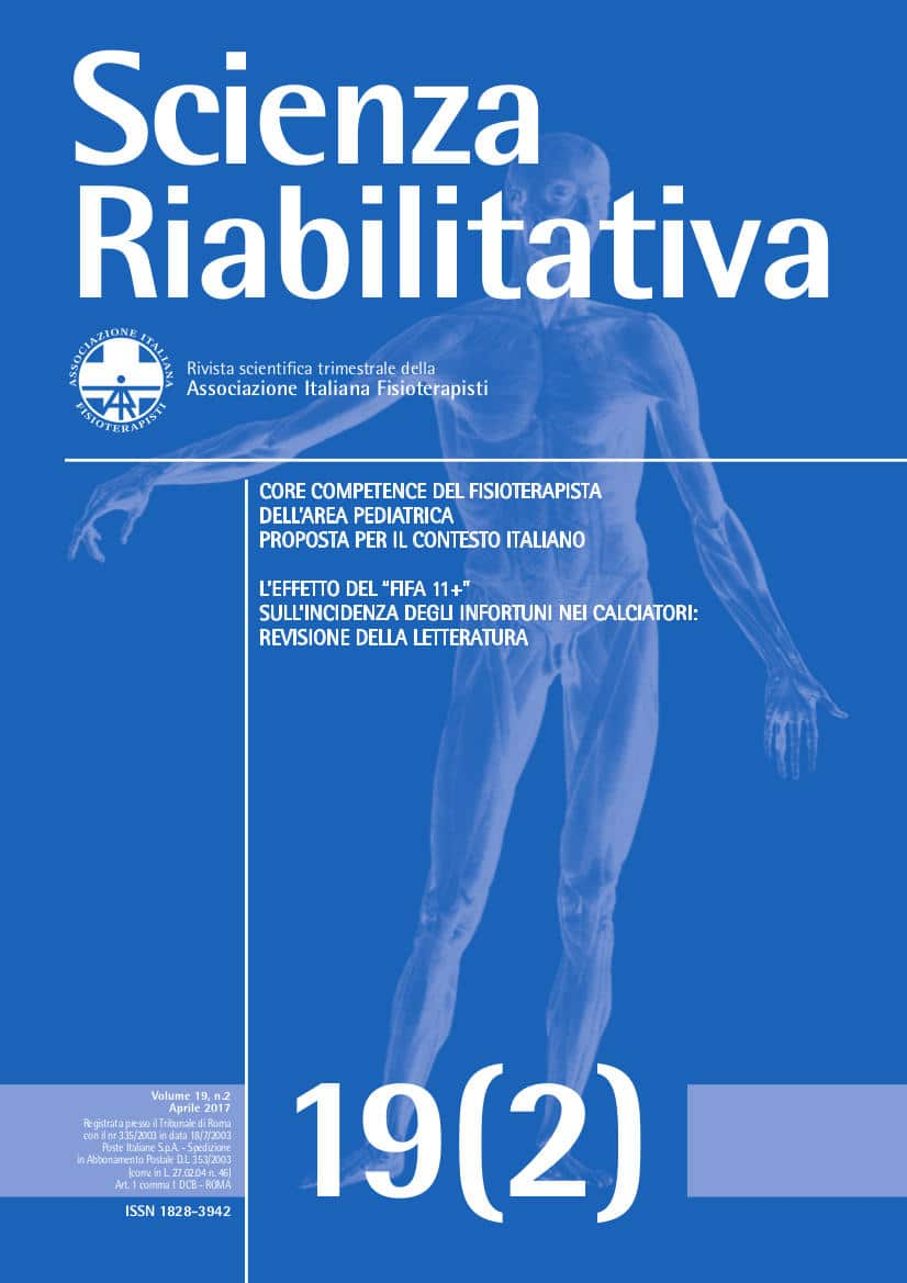 Scienza Riabilitativa 19.2