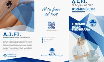 AIFI mostra a tutti il mondo della fisioterapia