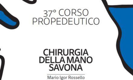 """37° Corso propedeutico di chirurgia e riabilitazione della mano """"Renzo Mantero"""" e corso base di microchirurgia"""