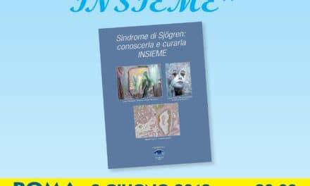 """Presentazione del libro scientifico """"Sindrome di Sjogren: conoscerla e curarla INSIEME"""""""