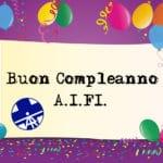 Buon compleanno AIFI!!!