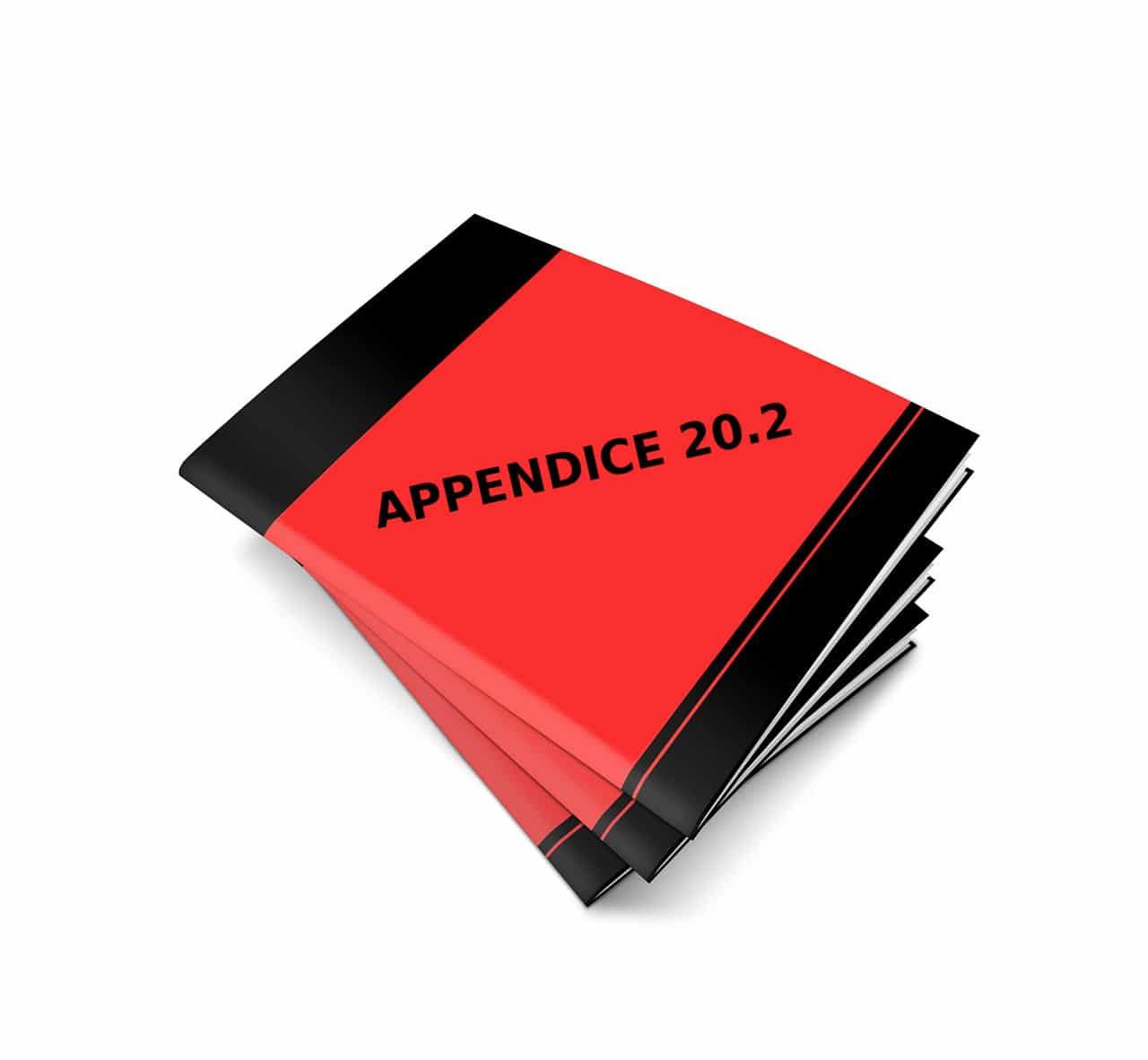 appendice SR 20.2