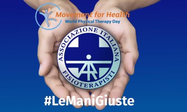 8 Settembre 2018 Giornata Mondiale della Fisioterapia