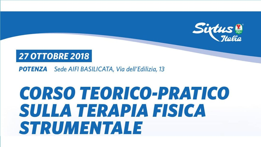 CORSO TEORICO-PRATICO SULLA TERAPIA FISICA STRUMENTALE