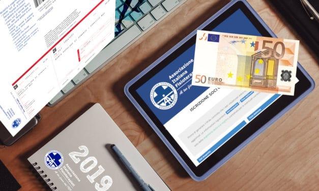 ISCRIZIONE AD AIFI 2019 – QUOTA RIDOTTA DA 100€ A 50€