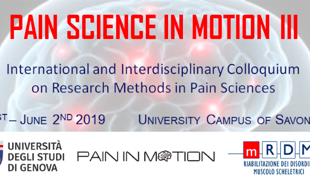 Pain Science in Motion III
