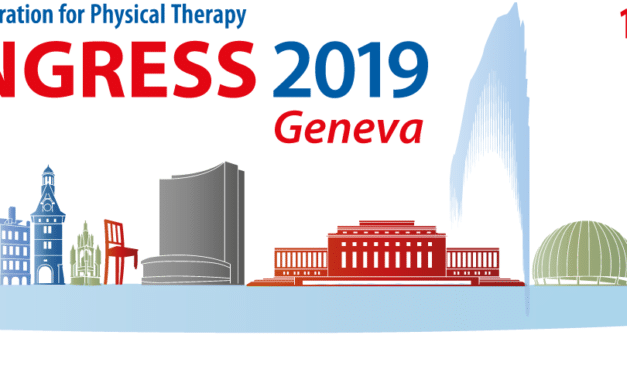 Ai nastri di partenza il congresso mondiale WCPT 2019 a Ginevra