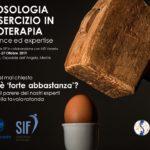 """Congresso Sif e A.I.FI. Veneto: """"La Posologia dell'esercizio in fisioterapia: tra evidence ed expertise"""""""