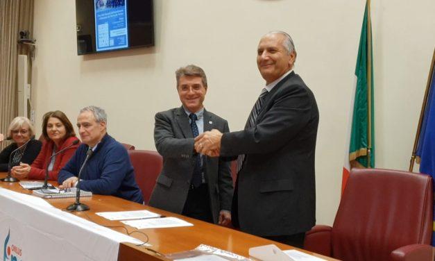 Sanità. protocollo Fincopp-AIFI, fisioterapista strategico per incontinenza temi presa in carico e formazione in tavola rotonda a stati generali Roma