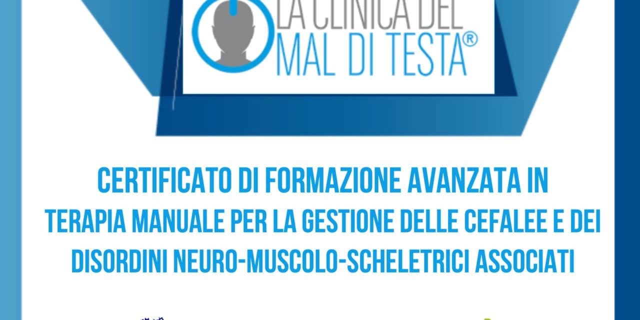 Formazione avanzata cefalee e Manipolazione fasciale Stecco prossimamente a Bologna