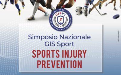 Simposio Nazionale GIS Sport – Sports Injury Prevention