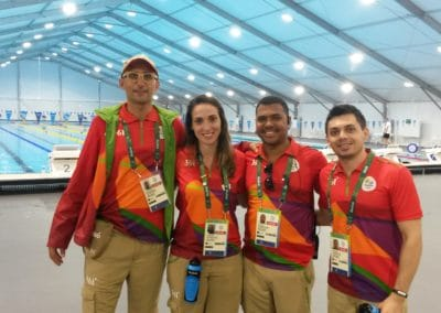 RIO 2106 INTERNATIONAL SPORTS PHYSIO TEAM