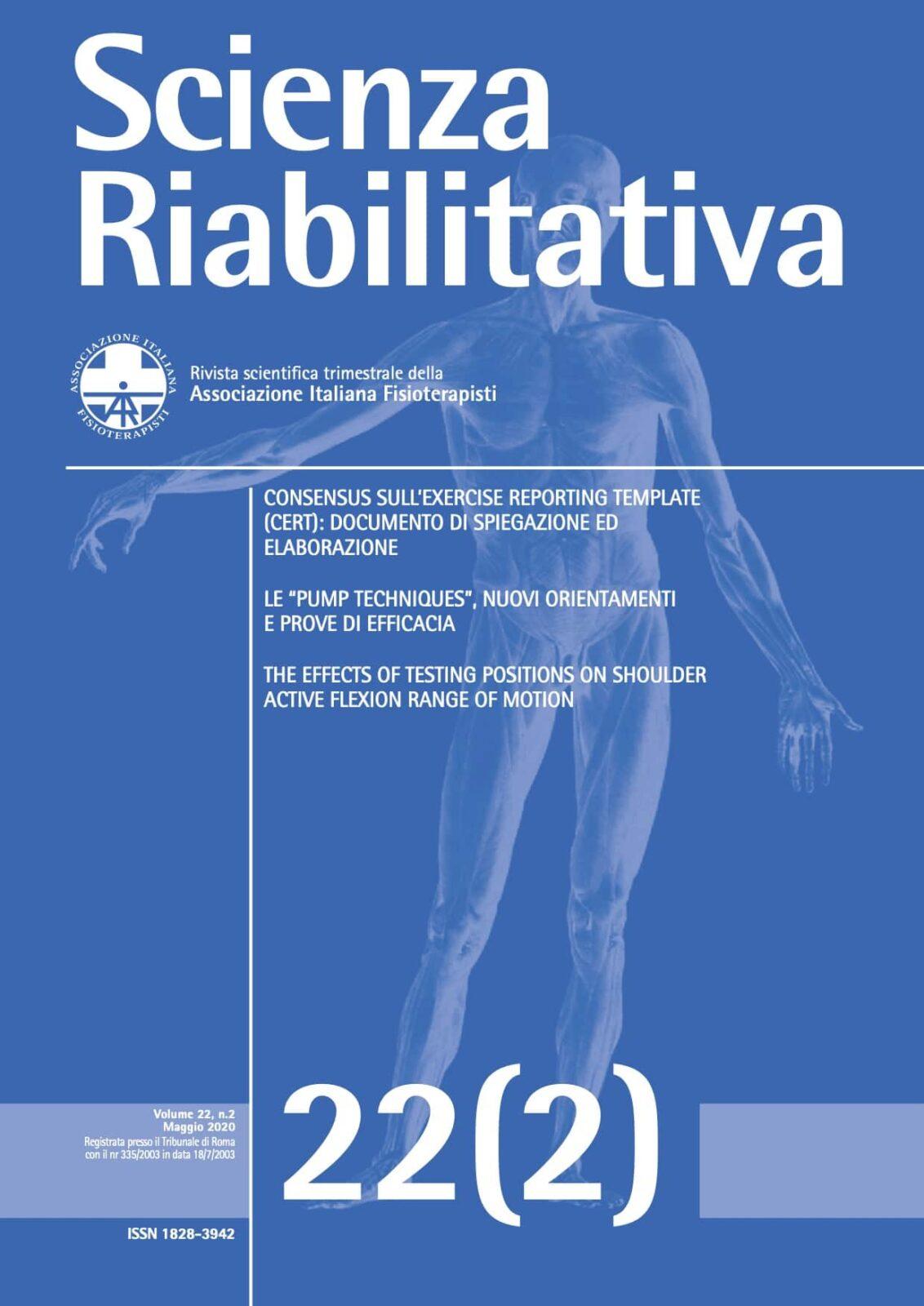 SCIENZA RIABILITATIVA 222