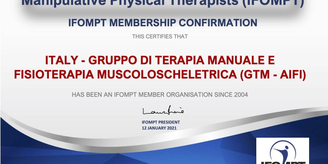 Gruppo Terapia Manuale con IFOMPT