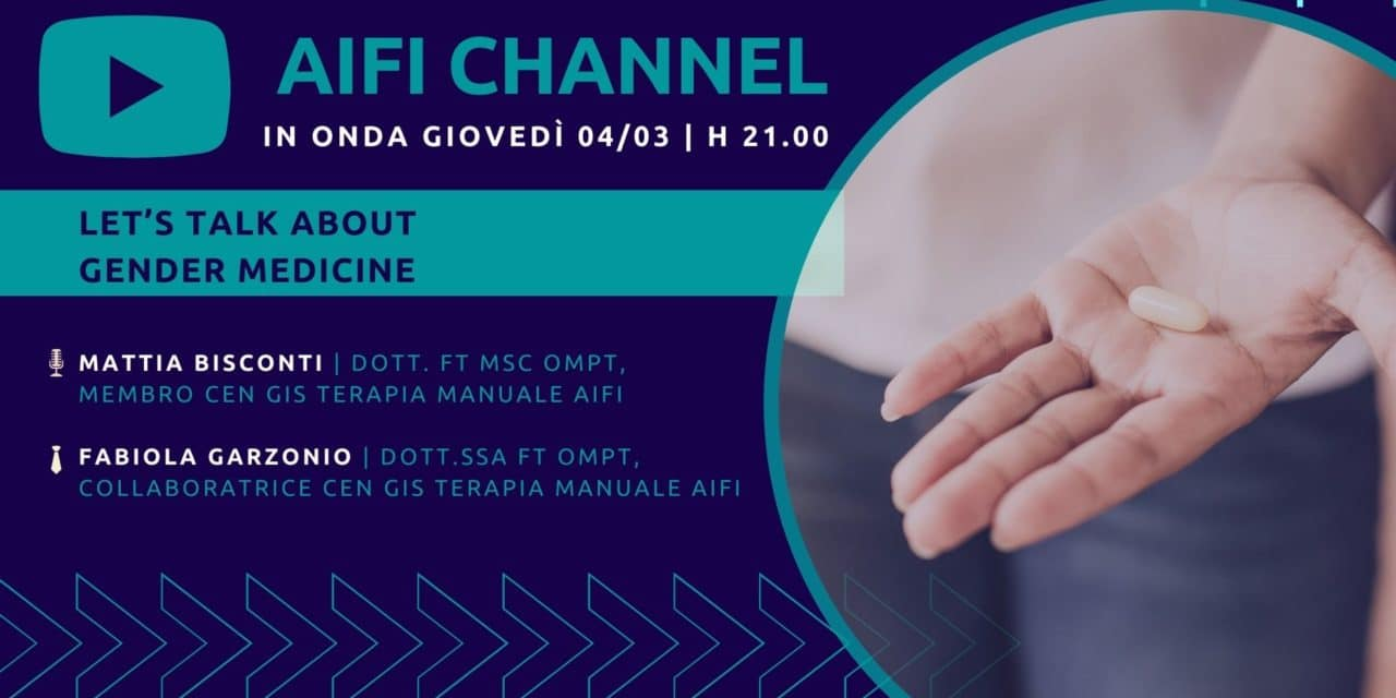 AIFI Channel 04/03: Let's talk about gender medicine