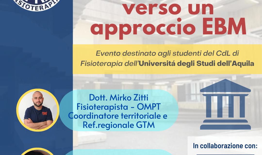 AIFI Sezione Abruzzo e la GTM University incontrano gli studenti dell'Università dell'Aquila