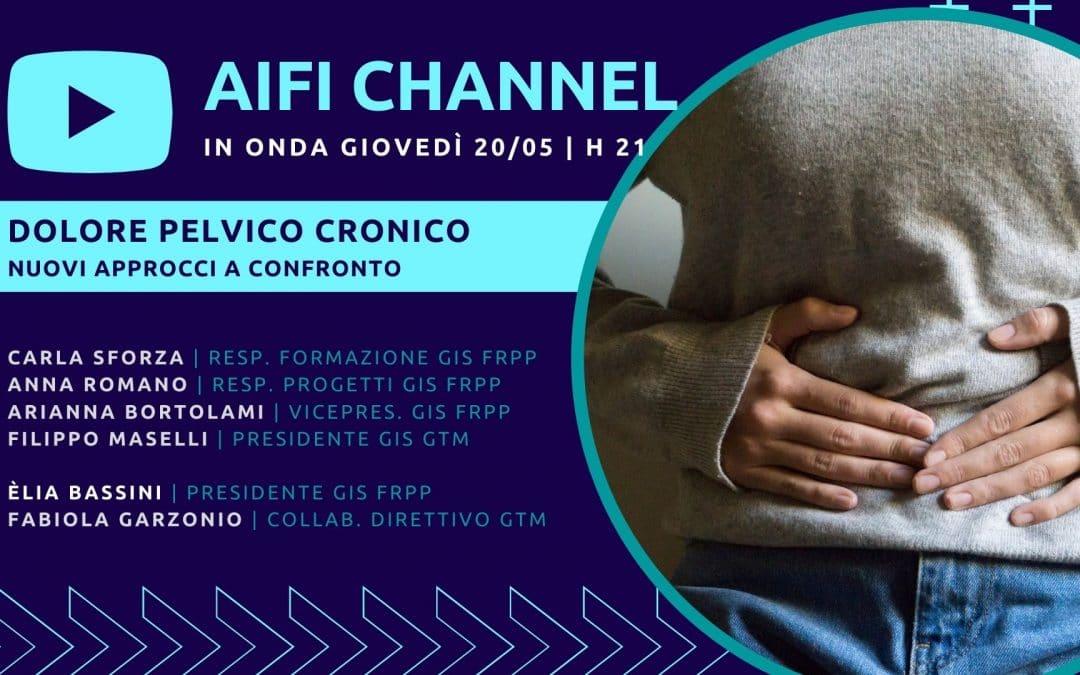 Chronic Pelvic Pain: il 20/5 nuovo episodio su AIFI Channel