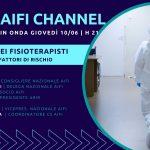 Covid-19 nei fisioterapisti italiani: il 10/06 il nuovo appuntamento su AIFI Channel