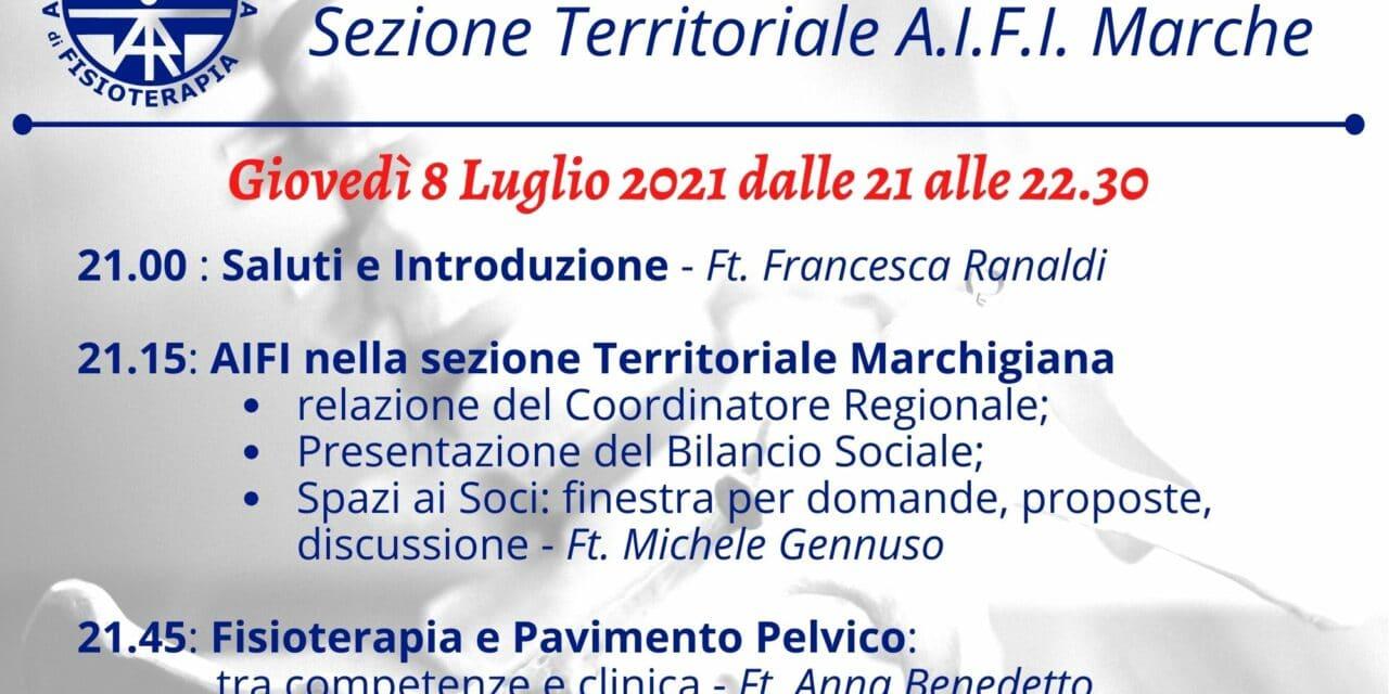 ASSEMBLEA ANNUALE AIFI SEZIONE TERRITORIALE MARCHE