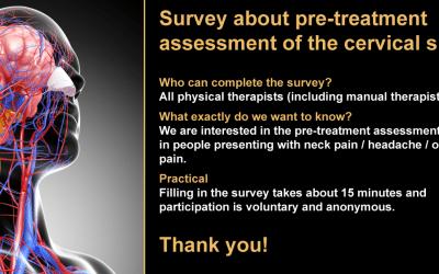 Indagine sulla valutazione pre-trattamento del rachide cervicale