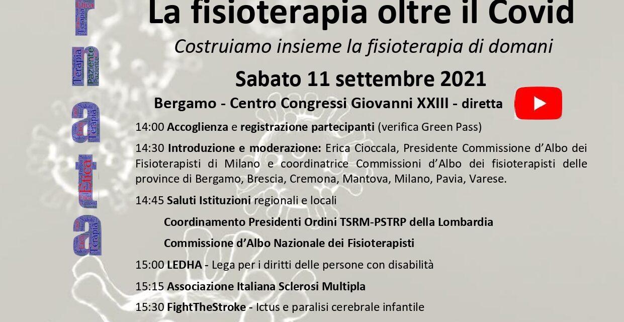 Celebrazioni per la Giornata Mondiale della Fisioterapia in Lombardia