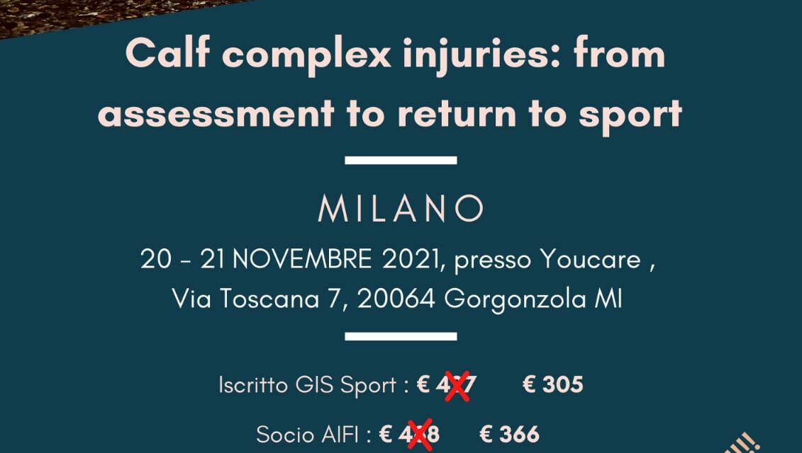 Calf Complex Injuries: from assessment to return to sport