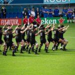 Test Match di Rugby: formazione sul campo